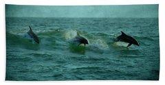 Dolphins Beach Sheet