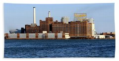 Domino Sugar Beach Sheet by Joseph Skompski
