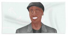 Don Cheadle Beach Towel