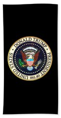 Donald Trump President Seal Beach Towel