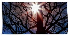 Beach Towel featuring the photograph Don't Lose Sight Of It All by Karen Wiles