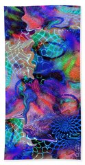 Don't Stop Me Now Beach Towel by Nareeta Martin