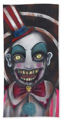 Don't You Like Clowns?  Beach Towel by Abril Andrade Griffith