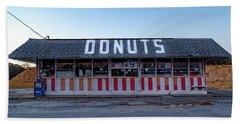Donut Shop No Longer 3, Niceville, Florida Beach Sheet