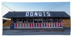 Donut Shop No Longer 3, Niceville, Florida Beach Sheet