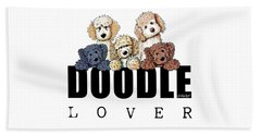 Doodle Lover Beach Towel
