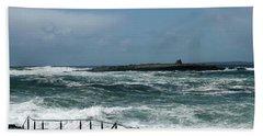 Doolin Waves Beach Towel