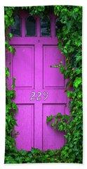 Door 229 Beach Sheet by Darren White