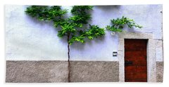 Door 54 Beach Towel by Ramona Matei