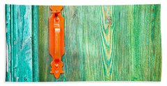 Door Handle Beach Towel