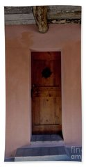 Door In Brisighella, Italy Beach Sheet