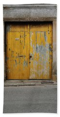 Beach Towel featuring the photograph Door No 152 by Marco Oliveira