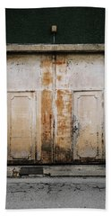 Beach Sheet featuring the photograph Door No 163 by Marco Oliveira