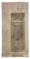 Door To The Past Beach Towel by Victoria Harrington