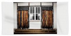 Doors Of Dachau Beach Towel