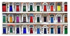 Doors Of Dublin Beach Sheet