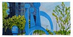 Toronto Canary District - Doors Open Toronto Beach Towel