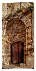 Doorway In Akko Beach Towel