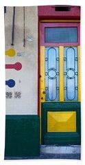 Doors Of San Telmo, Argentina Beach Towel