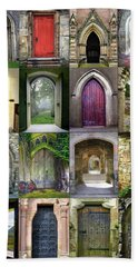 Doorways To The Past Beach Towel