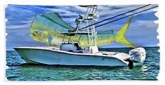 Dorado Yellowfin Beach Towel