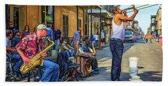 Doreen's Jazz New Orleans - Paint Beach Sheet