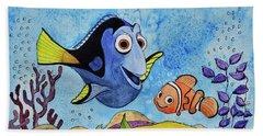 Dori And Nemo Beach Towel