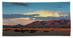 Dos Cabezos Sunset Serenity Beach Towel