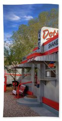 Dot's Diner In Bisbee Beach Sheet