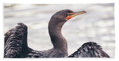 Double-crested Cormorant Beach Sheet