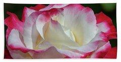 Double Delight Rose 1 Beach Sheet