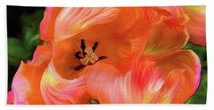 Double Dutch Tulips Beach Sheet