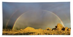 Double Rainbow Gold Beach Sheet