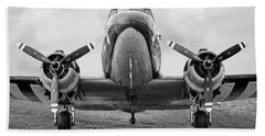 Douglass C-47 Skytrain - Dakota - Gooney Bird Beach Towel