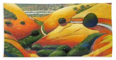 Down Metcalf Road Beach Towel