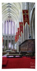 Down The Aisle - Orleans Cathedral Beach Towel