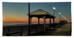 Down The Shore At Dawn Beach Towel