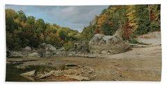 Downstream From Cumberland Falls Beach Sheet