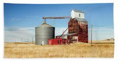 Downtown Benchland Beach Towel