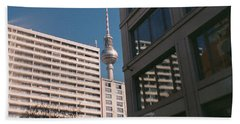 Downtown Berlin Beach Towel