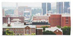 Beach Towel featuring the photograph Downtown Birmingham - The Magic City by Shelby Young