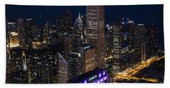 Downtown Chicago Beach Sheet