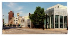 Downtown Huntington West Virginia Beach Sheet by L O C