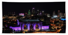 Downtown Kansas City  Beach Towel