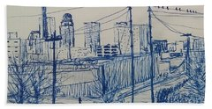 Downtown Louisville Beach Towel
