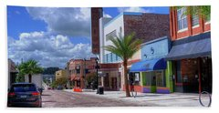 Downtown Ocala Theatre Beach Towel