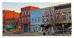 Downtown Perrysburg  B 0288 Beach Towel