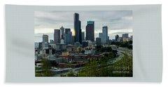 Downtown Seattle,washington Beach Sheet