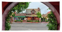 Downtown Solvang Beach Towel