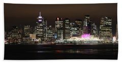 Downtown Vancouver Beach Towel